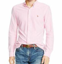 Camicie casual e maglie da uomo bianche Ralph Lauren in cotone