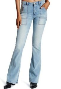 NEW BLANK NYC Denim Cosmic High Flare Jeans $98 - High Rise/Flare Leg/Light Wash