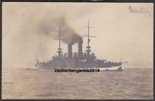 11843 PK Foto KuK Kriegsmarine SMS Habsburg Schlachtschiff 1915 WK1 WW1