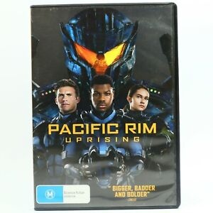 Pacific Rim Uprising DVD R4 Movie Good Condition Free Tracked Post