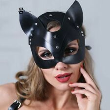 Sexy-Leather-Cat-Mask-For-Women-girl-Party-Bdsm-Fetish-Cat-Head-Black-Eye-Mask