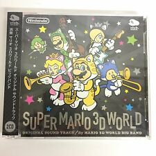 Super Mario 3D World Original Sound Track CD Club Nintendo Japan Exclusive