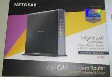 Netgear - Nighthawk AC1900 Wi-Fi Cable Modem Router #80