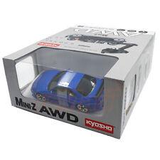 Kyosho Mini-Z AWD NISSAN SKYLINE GT-R NISMO R33 Blue Readyset RTR RC Cars Kit