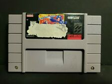 Mega Man 7 (Super Nintendo Entertainment System, 1995) SNES Ripped Label Cart