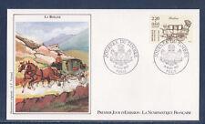 enveloppe 1er jour  NF journée du timbre   Paris  ;  1987