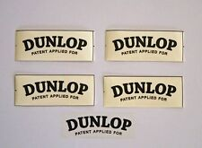 AUSTIN HEALEY  DUNLOP WHEEL DECALS