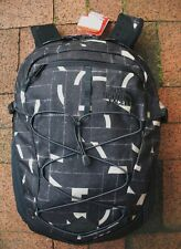 THE NORTH FACE WOMENS BOREALIS BACKPACK- DAYPACK- CHK3- WEATHERED BLACK PRINT
