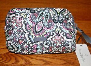 Vera Bradley Iconic Mini Cosmetic Bag case Bonbon Medallion travel floral small