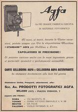 Z5210 Macchina fotografica AGFA - Pubblicità d'epoca - 1928 vintage advertising