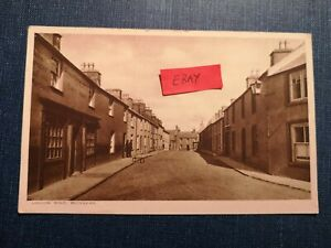 POSTCARD ANGLESEY - LONDON ROAD, BODEDERN - EARLY 1900's.