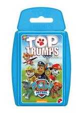 TOP TRUMPS NICKELODEON PAW PATROL CARD GAME BRAND NEW