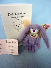 """Deb Canham """"Sugar Plum"""" - Miniature Bunny 8 cm."""