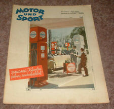 Motor u. Sport Pössneck 29/1939 Steyr 55, GP Frankreich, Rund um Schotten,