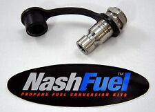 3600 PSI BULKHEAD CNG QUICK CONNECT FUEL FAST FILL NOZZLE NGV1 SHEREX OPW LD36