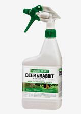 Liquid Fence DEER & RABBIT REPELLENT Ready To Use Spray Rain Safe 32 oz HG-71126