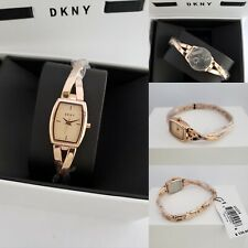Authentic Dkny Rose Gold Bangle Watch