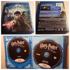 Harry Potter and the Deathly Hallows: Part II (Blu-Ray, 2011, 2-Disc Set)