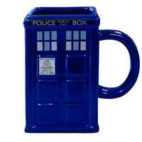 Doctor Who 3D Tasse Tardis Kaffeetasse Kaffeebecher Becher Police Call Box Mug