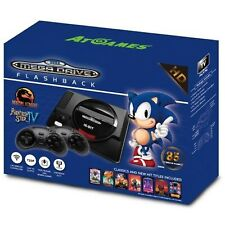 SEGA Mega Drive Flashback Mini HD Incl. 85 Preinstalled Games and 2 Controller