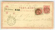 Denmark: Address letter to parcel from Holstebro 16 øre rate.