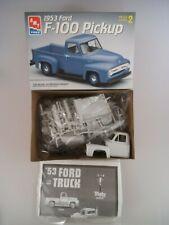 amt Ertl Bausatz 6487 1953 Ford F-100 Pickup 1:25 (4381)