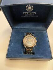 Citizen Eco-Drive Signature Series Moon Phase AV3006-09E Wrist Watch for Men
