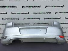 VW GOLF MK6 GTI 2009-2013 REAR BUMPER IN SILVER WITH DIFFUSIOR [V24]