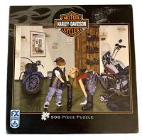Harley Davidson Motorcycles Puzzle 500 Piece COMPLETE FX Schmid Ravensburger