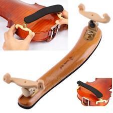 Professional Solid Wood Adjustable Shoulder Rest Pad Support Violin Size 3/4-4/4