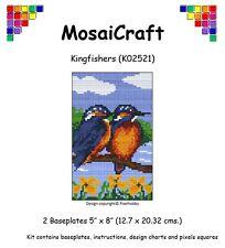 MosaiCraft Pixel Loisirs créatifs Mosaïque Art Kit 'Martins-pêcheurs' Pixelhobby