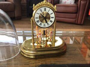 Gernan Ballerina Clock With Plastic Dome