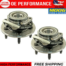Moog 2 Front Wheel Bearing & Hub for 2000 2001 2002 2003 Ford F-150 4WD ABS