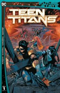 Future State Teen Titans #1 (2021) DC Comics 1st Red X Comic Appearance Hot
