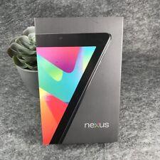 Nexus 7 (1st Generation) 16GB, Wi-Fi, 7in - Black