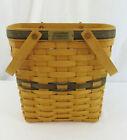 Vintage 1998 Longaberger Collectors Club Membership Basket