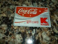 KMART Coca-Cola 2006 Gift Card ( $0 ) No Cash Value Coke 06 Credit Charge Card