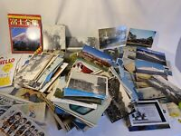 Large Lot Of Vintage Unposted Postcards - A Lot Of Duplicates-planes, Ships Etc