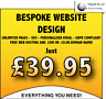 WEBSITE DESIGN SERVICE - *UNLIMITED* PAGES - FREE HOSTING, DOMAIN, SEO & EMAIL!