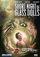 SHORT NIGHT OF GLASS DOLLS Aldo Lado*Ingrid Thulin Italian Giallo R0 DVD *NEW*