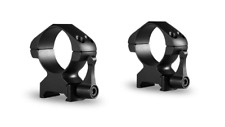 Hawke Precision Quick Release Steel Ring Mounts / 30mm High Weaver