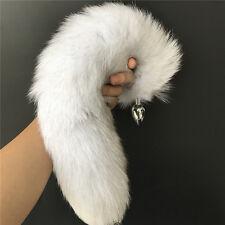 """A Clip Grigio mouse tail in finta pelliccia 28 /""""LONG Costume Bambini /& Adulti Nuovo"""