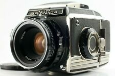 【 N MINT 】Zenza Bronica S2 A Late Model Nikkor-P 75mm F/2.8 Lens From JAPAN #181