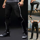 Mens Sweatpants Pockets Athletic Pants Running Workout Cargo Sport Gym Trousers