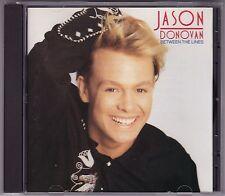 Jason Donovan - Between The Lines - CD (TVD93319 1990 Mushroom Pic. Disc)