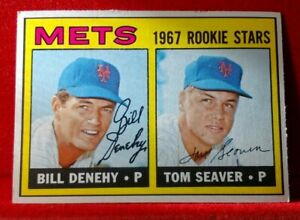 1967 Topps #581 Tom Seaver ROOKIE Card