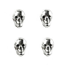 Skull Tuxedo Shirt Studs - Wedding Jewelry - Handmade - Gift Box