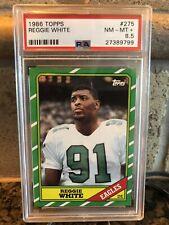 1986 Topps Reggie White Rookie PSA 8.5