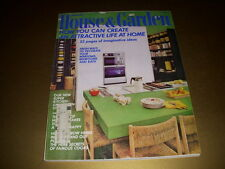 Vintage HOUSE & GARDEN Magazine, January, 1971, ROMANTIC BEDROOM DECORATING!