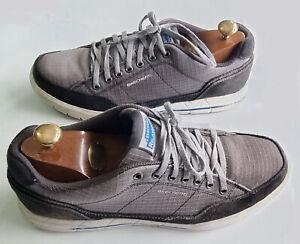 Men's SKETCHERS Vintage RELAXED FIT MEMORY FOAM Grey Trainers EU 43 UK Size 9